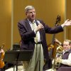 FILE - This March 27, 2003 file photo shows conductor and composer Marvin Hamlisch after being appointed the principal pops conductor for the Buffalo Philharmonic Orchestra at the Kleinhan\'s Music Hall in Buffalo, N.Y. Hamlisch, a conductor and award-winning composer best known for the torch song