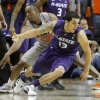 Oklahoma State\'s Markel Brown (22) knocks the ball away from Kansas State\'s Angel Rodriguez (13) during an NCAA college basketball game between the Oklahoma State University Cowboys (OSU) and the Kansas State University Wildcats (KSU) at Gallagher-Iba Arena in Stillwater, Okla., Saturday, Jan. 21, 2012. Photo by Bryan Terry, The Oklahoman