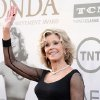 Photo - Jane Fonda arrives at the 42nd AFI Lifetime Achievement Award Tribute Gala honoring her at the Dolby Theatre on Thursday, June 5, 2014, in Los Angeles. (Photo by Dan Steinberg/Invision/AP)