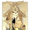 """Promotional art for the third Mouse Guard series, """"The Black Axe."""""""