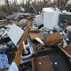 A home on Highway 70 was destroyed in Tuesday\'s deadly tornado in Lone Grove, Okla., seen on Wednesday, Feb. 11, 2009. Photo by Steve Sisney, The Oklahoman