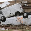 Damage left behind on Tuesday, May 21, 2013 in Moore, Okla. after a home was destroyed by Monday\'s tornado in the area near 4th and Bryant. Photo by Chris Landsberger, The Oklahoman