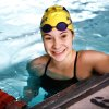 Photo - Sophomore swimmer Kasey Rein of Piedmont in the pool Wednesday, Feb. 15, 2012, practicing for this weekend's  state swimming championships.     Photo by Jim Beckel, The Oklahoman
