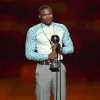 Russell Westbrook accepts the award for best comeback athlete at the ESPY Awards at the Nokia Theatre on Wednesday, July 16, 2014, in Los Angeles. (Photo by John Shearer/Invision/AP)