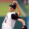 Oklahoma\'s Brandon McCarthy pitches during the minor league baseball game between the Oklahoma RedHawks and the Las Vegas 51\'s at AT&T Bricktown Ballpark in Oklahoma City, Friday, August 1, 2008. BY MATT STRASEN, THE OKLAHOMAN