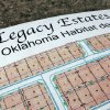 Photo -  Plans for Central Oklahoma Habitat for Humanity's Legacy Estates addition. Habitat needs $2.5 million to develop the 38 acres near Wilshire Boulevard and Council Road. PHOTO BY DAVID McDANIEL, THE OKLAHOMAN   David McDaniel -
