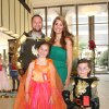 Photo -  Matt, Bella, 8, Kristen, Micah, 5, Brown had fun at the ball also.