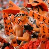 OSU fans during the college football game between Texas A&M University and Oklahoma State University (OSU) at Boone Pickens Stadium in Stillwater, Okla., Thursday, Sept. 30, 2010. Photo by Bryan Terry, The Oklahoman