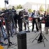 Bethany Police Chief Phil Cole speaks to the media at the Bethany Police Headquarters concerning two people of interest in the murder of Carina Saunders Wednesday, October 19, 2011. Photo by Doug Hoke, The Oklahoman ORG XMIT: KOD