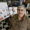Photo - Cyrus Naheed is the owner of the last remaining Big Ed's Hamburgers at 12209 N Pennsylvania Ave. in Oklahoma City, OK, Friday, August 29, 2014,  Photo by Paul Hellstern, The Oklahoman