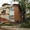 Damage is seen on Saturday, April 14, 2012, in Norman, Okla. West Oaks Apartments lost windows, walls and roof during Friday\'s tornado. Photo by Steve Sisney, The Oklahoman