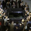 Photo - Journalists surround the new F-150 with a body built almost entirely out of aluminum at the North American International Auto Show in Detroit, Monday, Jan. 13, 2014. (AP Photo/Carlos Osorio)