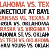 Photo - COLLEGE FOOTBALL / RANK / UNIVERSITY OF OKLAHOMA / OKLAHOMA STATE UNIVERSITY / OSU / RANKING OF THE BEST 2009 BIG 12 FOOTBALL GAMES graphic
