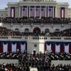 The stands are filled at the beginning of the inauguration ceremonies for President-elect Barack Obama on Tuesday, Jan. 20, 2009, at the U.S. Capitol in Washington. (AP Photo/Scott Andrews, Pool)