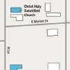 GRAPHIC / ILLUSTRATION / STREET MAP OF ANADARKO / CHRIST HOLY SANCTIFIED CHURCH / POLICE STATION / CURRENT DAILY NEWS OFFICE / ANADARKO DAILY NEWS / TORNADO ALLEY BAR / MURDER / HOMICIDE / PASTOR / THE REV. CAROL DANIELS
