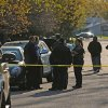 Photo -   Police investigate the scene where three people were shot and killed at an in-home day care in Brooklyn Park, Minn., on Monday, April 9, 2012. No arrests were immediately made. (AP Photo/The Star Tribune, Richard Sennott) MANDATORY CREDIT; ST. PAUL PIONEER PRESS OUT; MAGS OUT; TWIN CITIES TV OUT where three people were shot and killed at an in-home day care in Brooklyn Park, Minn., on Monday, April 9, 2012. No arrests were immediately made. (AP Photo/The Star Tribune, Richard Sennott) MANDATORY CREDIT; ST. PAUL PIONEER PRESS OUT; MAGS OUT; TWIN CITIES TV OUT