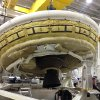 Photo - FILE - In this undated file photo provided by NASA, a saucer-shaped test vehicle known as a Low Density Supersonic Decelerator holding equipment for landing large payloads on Mars is shown in the Missile Assembly Building at the US Navy's Pacific Missile Range Facility at Kekaha on the island of Kauai in Hawaii. The U.S. space agency is deciding its next move after it lost the chance to launch the vehicle into the Earth's atmosphere because of unfavorable wind conditions. The mission is designed to test technology that could be used on Mars. (AP Photo/NASA, File)