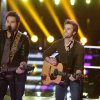 "THE VOICE -- ""Battle Rounds"" Episode 407 -- Pictured: ""The Swon Brothers"" -- (Photo by: Trae Patton/NBC)"