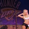 Jada dances during auditions for the OKC Thunder dance team, at Toby Keith\'s I Love this Bar and Grill, in Oklahoma City, Thursday, Sept. 11, 2008 BY MATT STRASEN, THE OKLAHOMAN.