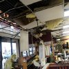 Damage to a Fantastic Sams following storms in Oklahoma City on Tuesday, Feb. 10, 2009. By John Clanton, The Oklahoman