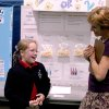 St.Philip Neri 4th grader Taylor Miller explaines her science fair project to Rose State College Engineering Professor Heidi Heilhecker. The Rose State College Science Fair is an annual event that encourages interest in scientific research and technology. Community Photo By: Steve Reeves Submitted By: natalie,