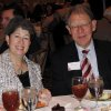 GAYLORD PRIZE....Molly Shi Boren and Joe Foote. (Photo by Helen Ford Wallace)