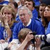Chesapeake Energy Corp. Aubrey McClendon watches the Oklahoma City Thunder take on the Los Angeles Lakers on May 14 in an NBA Playoffs game at Chesapeake Energy Arena. Bryan Terry - The Oklahoman