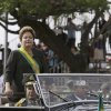 Photo - Brazil's President Dilma Rousseff attends the military ceremony of Independence Day in Brasilia, Brazil, Saturday, Sept. 7, 2013. (AP Photo/Eraldo Peres)