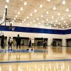The Thunder shoot free throws during Oklahoma City Thunder\'s practice at their new facility in Oklahoma City, Friday, Dec. 9, 2011. Photo by Sarah Phipps, The Oklahoman