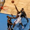 Oklahoma City\'s Serge Ibaka (9) goes goes to the basket between Sacramento\'s Chuck Hayes (42), Jason Thompson (34), and Isaiah Thomas (22) during an NBA basketball game between the Oklahoma City Thunder and the Sacramento Kings at Chesapeake Energy Arena in Oklahoma City, Friday, Dec. 14, 2012. Photo by Bryan Terry, The Oklahoman