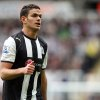 Newcastle United\'s Hatem Ben Arfa, is seen during their English Premier League soccer match against Manchester City at the Sports Direct Arena, Newcastle, England, Sunday, May 6, 2012. (AP Photo/Scott Heppell)