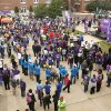 Walkers get ready to start the 2012 Oklahoma City Walk to End Alzheimer\'s at Bricktown Ballpark in Oklahoma City, OK, Saturday, September 15, 2012, By Paul Hellstern, The Oklahoman