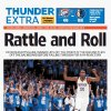 Game 1: Thunder-Mavericks, April 29, 2012