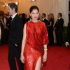 """Laetitia Casta attends The Metropolitan Museum of Art\'s Costume Institute benefit gala celebrating """"Charles James: Beyond Fashion"""" on Monday, May 5, 2014, in New York. (Photo by Evan Agostini/Invision/AP)"""