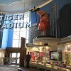 Photo -   The old Tiger Stadium marquee is displayed at the Detroit Historical Museum in Detroit, Wednesday, Nov. 21, 2012. The museum is reopening six months after the institution in the city's cultural center closed up shop to undergo its first major renovation in a half-century. (AP Photo/Carlos Osorio)