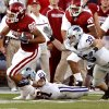 Photo - Oklahoma's offense stepped up in the Sooners' 42-30 victory over Kansas State. Photo by Steve Sisney, The Oklahoman