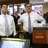 Republican presidential candidate, former Massachusetts Gov. Mitt Romney and his vice presidential running mate, Rep. Paul Ryan, R-Wis., get ready to order as they make an unscheduled stop at a Wendy\'s restaurant in Richmond Heights, Ohio, on Election Day, Tuesday, Nov. 6, 2012. (AP Photo/Charles Dharapak)