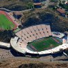 The Sun Bowl Stadium in El Paso, Texas, is seen here in a provided aerial photo.