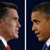 "FILE - In this Oct. 3, 2012, file photo combo, Republican presidential nominee Mitt Romney and President Barack Obama speak during their first presidential debate at the University of Denver, Colo. In a September Pew Research Center poll 48 percent of registered voters said Obama was more ""honest and truthful,"" to 34 percent who felt Romney was. And a CBS News/New York Times survey earlier in September asked separately whether each candidate was honest and trustworthy: 58 percent of likely voters described Obama that way while 53 percent said that of Romney. (AP Photo/David Goldman/Eric Gay)"