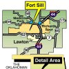 Photo - Fort Sill - Medicine Park - Richards Spur - Lawton MAP - OKLAHOMAN GRAPHIC