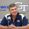 Georgia Tech head coach Paul Johnson sounds a lot like Bob Stoops when he talks about the SEC. AP PHOTO