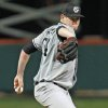 South Carolina\'s Jordan Montgomery throws a pitch in an NCAA college baseball game against Clemson, Friday, March 1, 2013, in Clemson, S.C. (AP Photo/Anderson Independent-Mail, Mark Crammer) GREENVILLE NEWS OUT, SENECA NEWS OUT