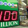 A sign shows the estimated jackpot for the Powerball drawing, Tuesday, Aug. 6, 2013, in Montpelier, Vt. The Powerball lottery jackpot jumped to $400 million after nobody won in Saturday night\'s drawing. The biggest Powerball jackpot was $590.5 million, won in Florida in May by an 84-year-old widow. (AP Photo/Toby Talbot)