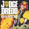 The cover to IDW\'s reprint book of Brian Bolland Judge Dredd stories, set for November release. IDW Publishing.
