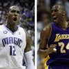 Photo - Dwight howard, left, Kobe Bryant, right.
