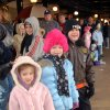 Molly Norton, age 4, Sophie Jordan, age 6, and Cade Norton, age 8 (my grandchildren) wait in line for snow tubing at AT&T Ballpark. Community Photo By: Gina Jordan Kishr Submitted By: Gina Jordan, Oklahoma City