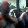 Photo -   This frame grab made from video on Friday, Oct. 5, 2012, and provided by John-Patrick McNown shows Edward Archbold competing in a roach-eating contest at Ben Siegel Reptile Store in Deerfield Beach, Fla. Archbold, 32, winner of the contest, died shortly after downing dozens of the live bugs as well as worms, authorities said Monday, Oct. 8. Authorities were waiting for results of an autopsy to determine a cause of death. (AP Photo/Courtesy John-Patrick McNown)