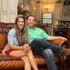 """Photo - Fifth District U.S. Rep. Vance McAllister sits with his wife Kelly in their home in Swartz, La., on Monday, June 30, 2014. McAllister announced Monday that he's changed his mind and intends to run for re-election despite the scandal caused by a video showing him kissing a married female aide. Rep. McAllister's wife Kelly said, """" I'm behind him 100 percent. We made this decision as a family."""" (AP Photo/The News-Star, Emerald Mcintyre) NO SALES"""