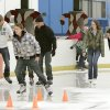 Edmond residents enjoy a new outdoor skating rink at Edmond\'s Festival Market Place in Edmond, OK, Friday, Nov. 25, 2011. By Paul Hellstern, The Oklahoman