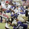 OU\'s Ryan Broyles breaks away from the Washington defense on a touchdown reception in the third quarter during the college football game between Oklahoma and Washington at Husky Stadium in Seattle, Wash., Saturday, September 13, 2008. OU beat UW, 55-14. BY NATE BILLINGS, THE OKLAHOMAN